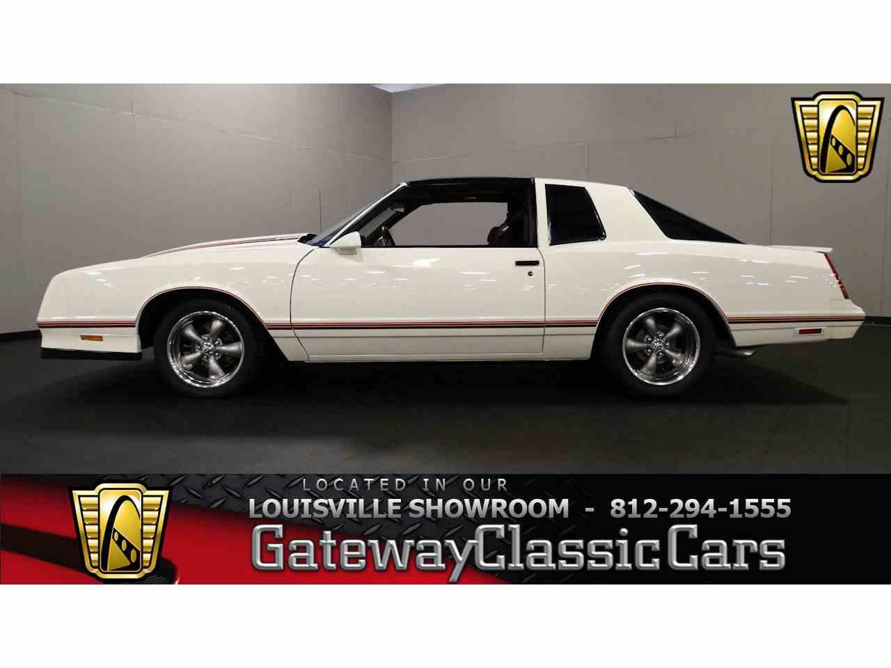 1987 Chevrolet Monte Carlo for Sale - CC-996186