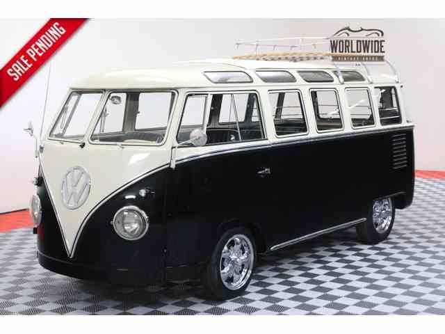 1962 VOLKSWAGEN SAMBA 23 WINDOW   996205
