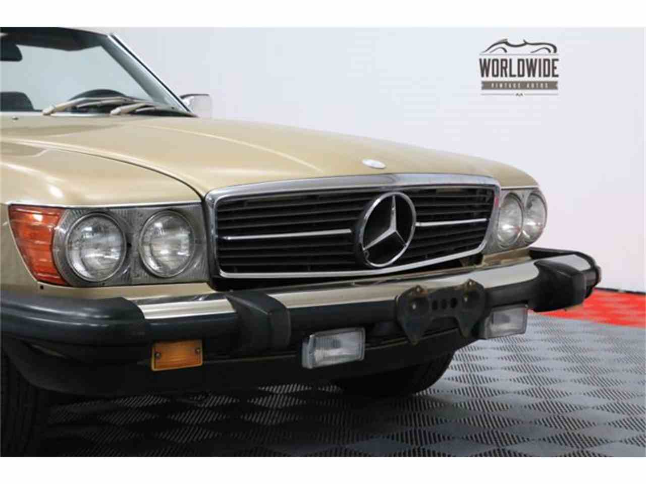 1980 mercedes benz 450sl for sale cc for Mercedes benz dealer denver