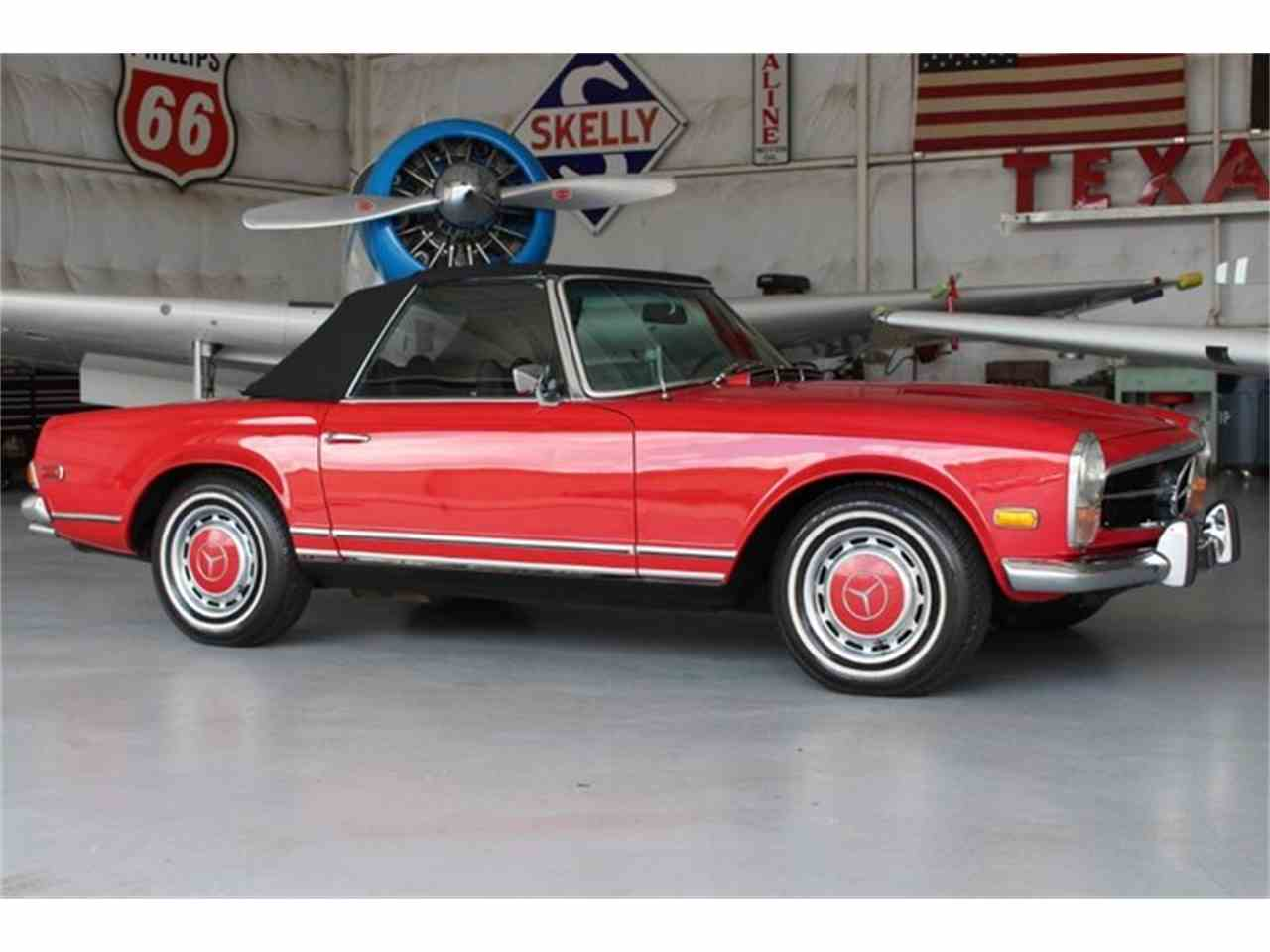 1971 mercedes benz 280sl for sale cc for Mercedes benz for sale in texas