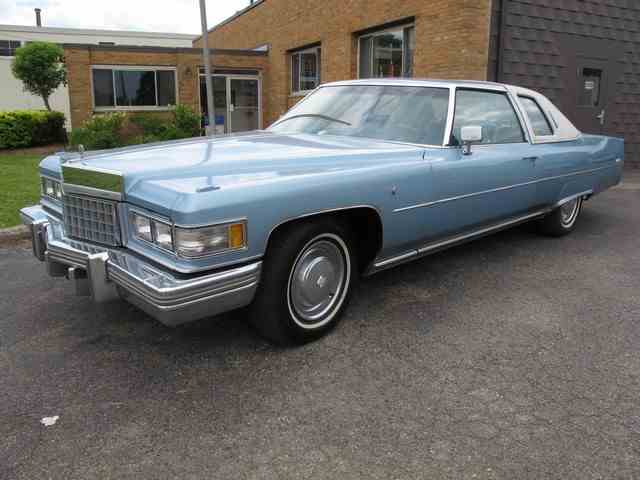 Picture of 1976 Cadillac Coupe DeVille located in Troy Michigan Offered by Classic Auto Showplace - LCPW