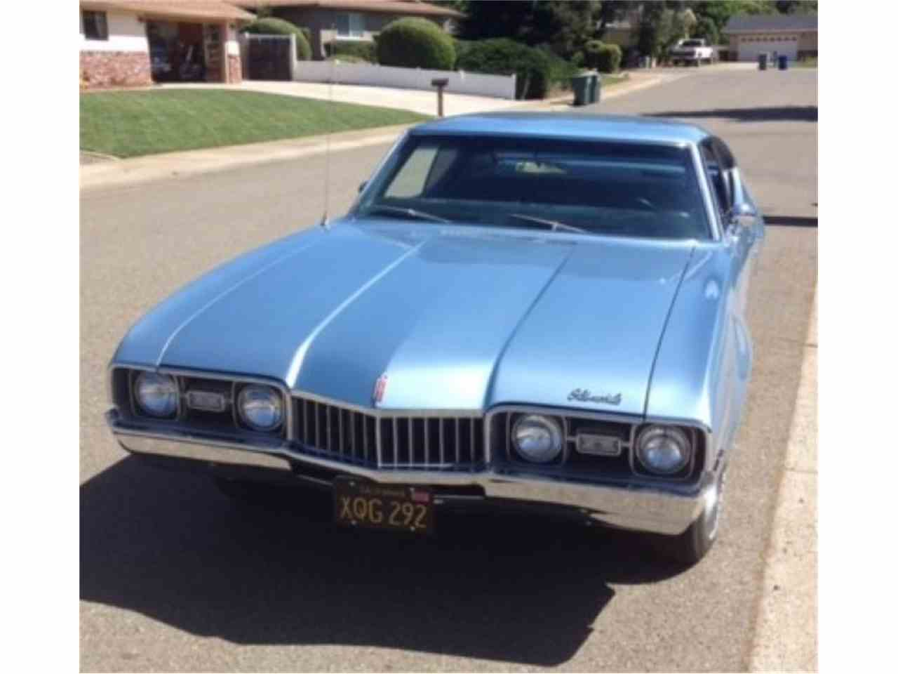 1968 oldsmobile cutlass for sale cc 990629. Black Bedroom Furniture Sets. Home Design Ideas