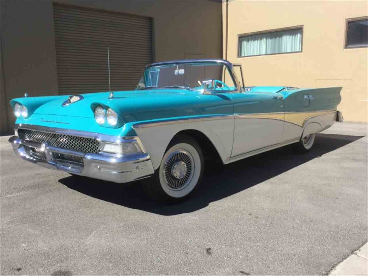 1958 ford fairlane 500 for sale cc 996390. Black Bedroom Furniture Sets. Home Design Ideas