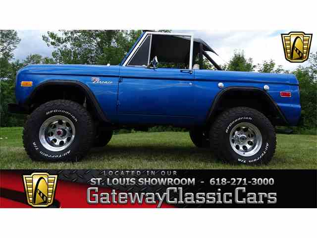 1972 to 1974 Ford Bronco for Sale on ClassicCarscom  31 Available