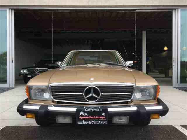 1984 to 1986 mercedes benz 380sl for sale on classiccars for 1984 mercedes benz 380sl for sale