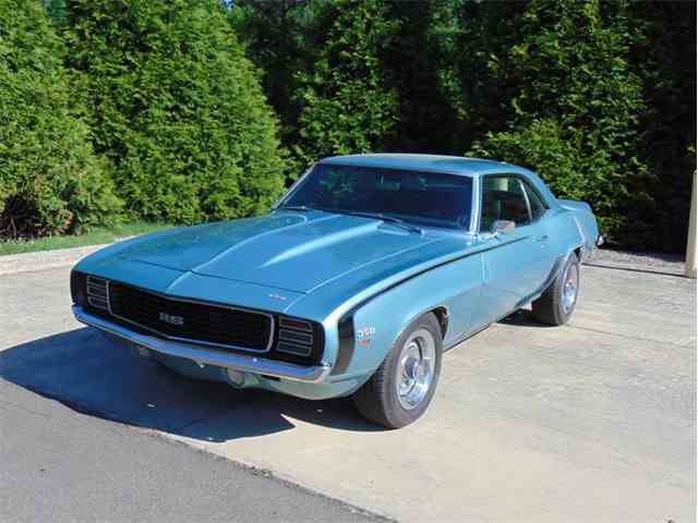 1969 chevrolet camaro rs ss for sale on 21 available. Black Bedroom Furniture Sets. Home Design Ideas