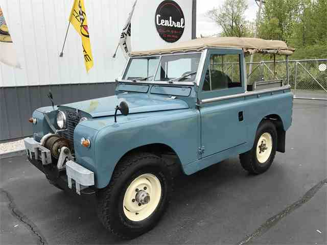 1961 Land Rover Series IIA  88 | 996505