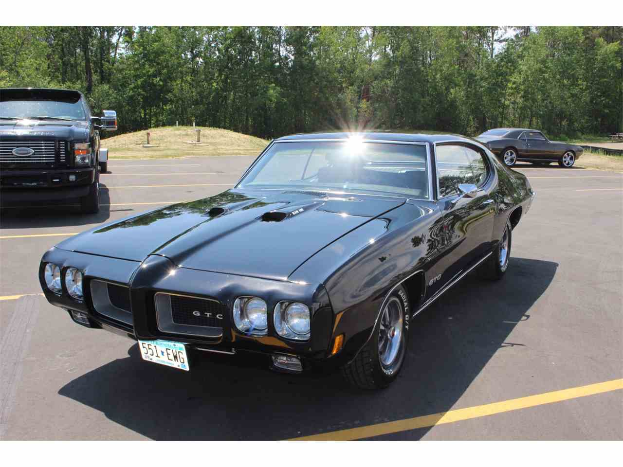 1970 pontiac gto for sale cc 990657. Black Bedroom Furniture Sets. Home Design Ideas
