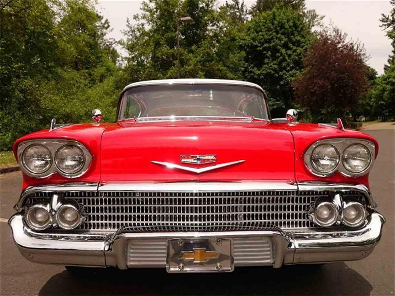 1958 chevrolet impala for sale cc 990688. Black Bedroom Furniture Sets. Home Design Ideas