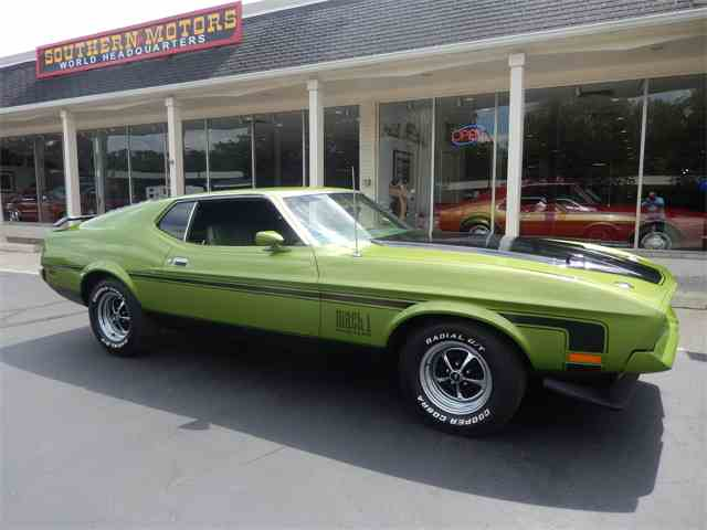 1972 Ford Mustang Mach 1 | 996974