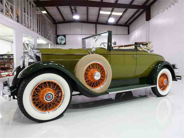 1929 Packard Eight 626 Convertible Coupe | 996985