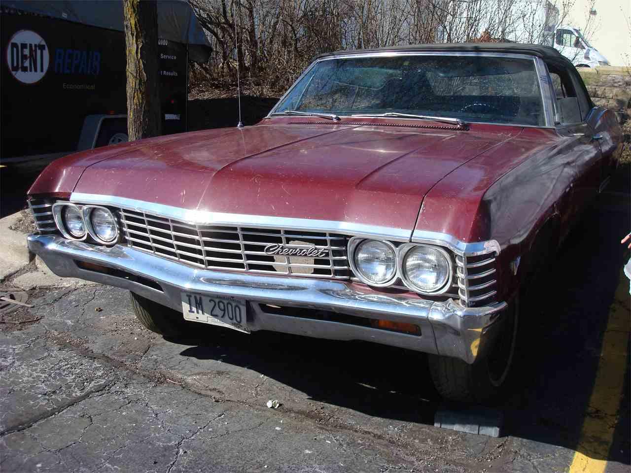 1967 chevrolet impala for sale cc 997175. Black Bedroom Furniture Sets. Home Design Ideas