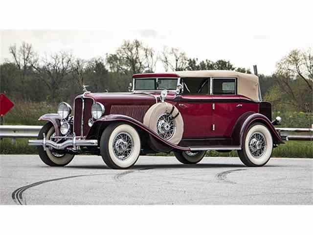 1931 Auburn Eight Phaeton Sedan   997191