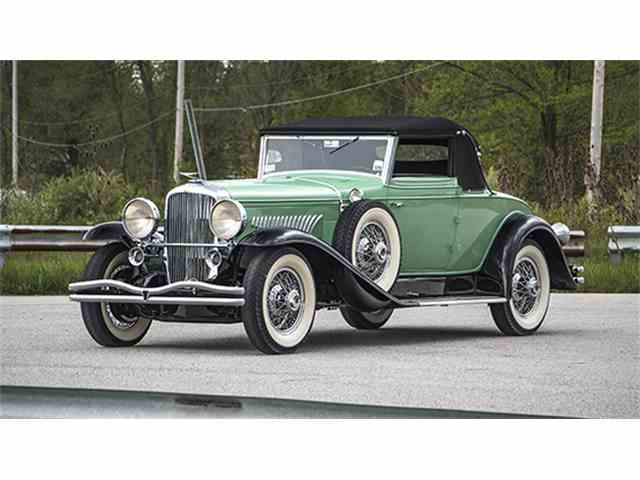 1929 Duesenberg Model J Convertible Coupe by Fleetwood | 997193