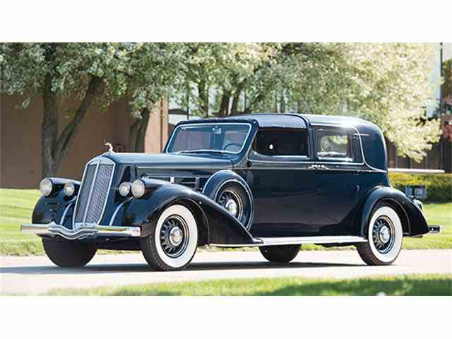 1936 Pierce-Arrow Twelve Town Car Prototype by Derham   997196