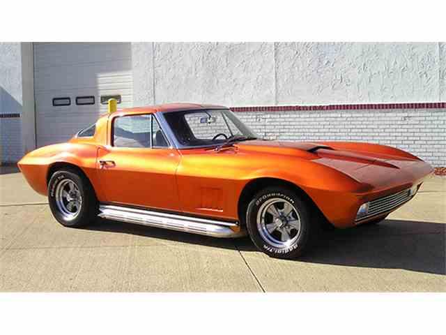1963 Chevrolet Corvette Sting Ray Coupe Orange Ray Custom | 997203