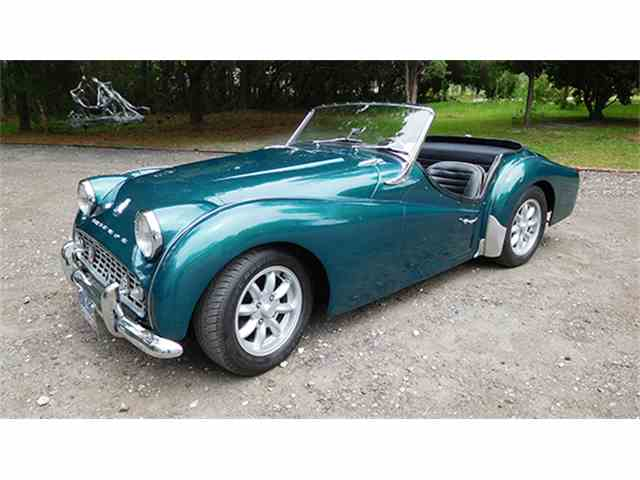 1959 Triumph TR3A   997221