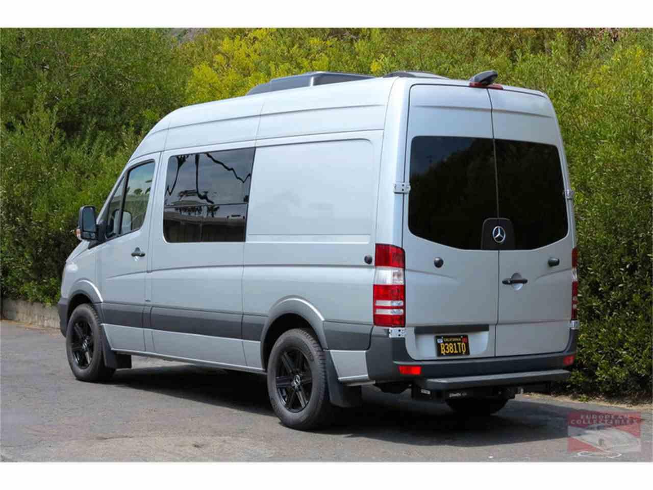 2016 mercedes benz sprinter 2500 custom camper for sale for Mercedes benz sprinter campervan for sale
