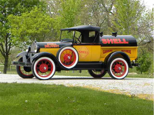 1929 Ford Model A Roadster Pickup Tribute Shell Oil Tanker | 997462