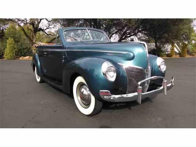1940 Mercury Convertible   997520