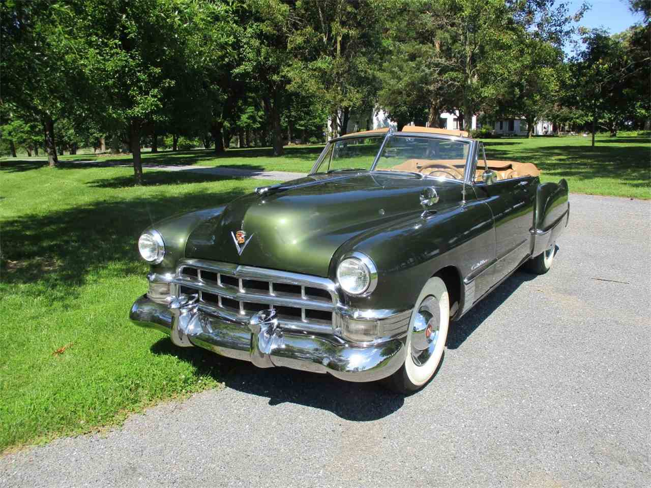 1949 cadillac series 62 for sale cc 997553. Black Bedroom Furniture Sets. Home Design Ideas