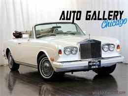 Picture of 1982 Rolls Royce Corniche II - $54,990.00 Offered by Auto Gallery Chicago - LDVR