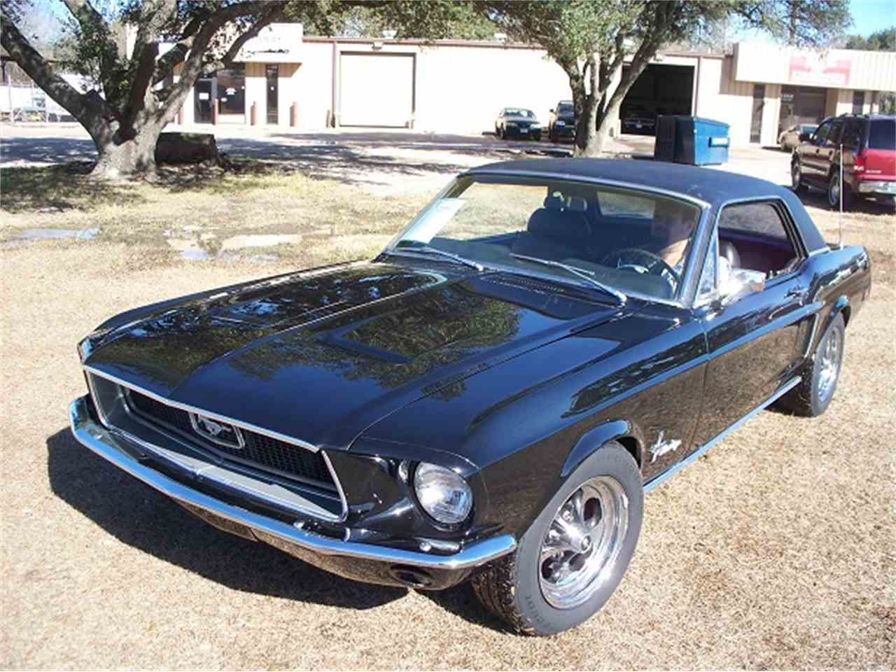 Large Picture of '68 Ford Mustang located in CYPRESS Texas Offered by Performance Mustangs - LDVZ