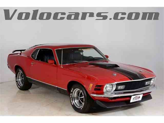 1970 Ford Mustang Mach 1 | 997855