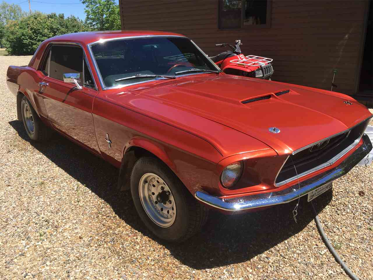 Large Picture of '68 Mustang - LE5A