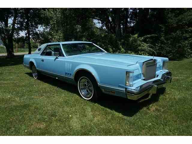 1978 Lincoln MK V WITH 45,848 MILES   998159