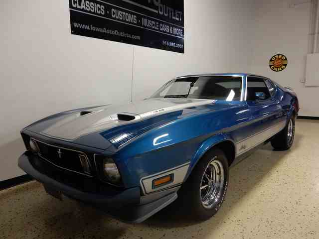 1973 Ford Mustang Mach 1 | 998336