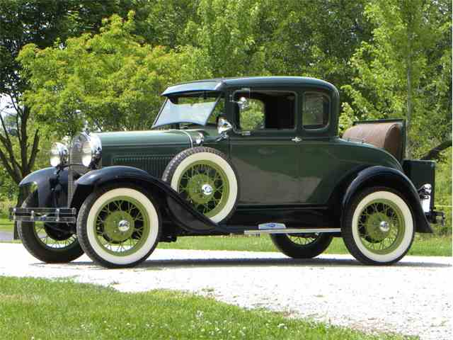 1930 Ford Model A Rumble Seat Coupe   998588