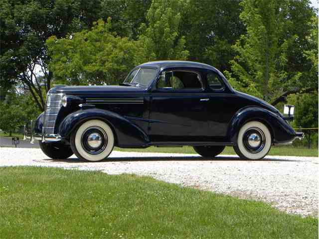 1938 Chevrolet Master Deluxe 2 Dr Sport Coupe | 998852