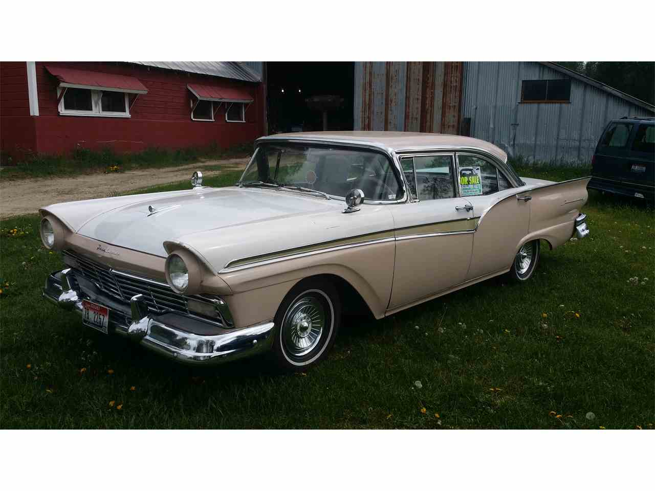 1957 ford fairlane 500 for sale cc 998917. Black Bedroom Furniture Sets. Home Design Ideas