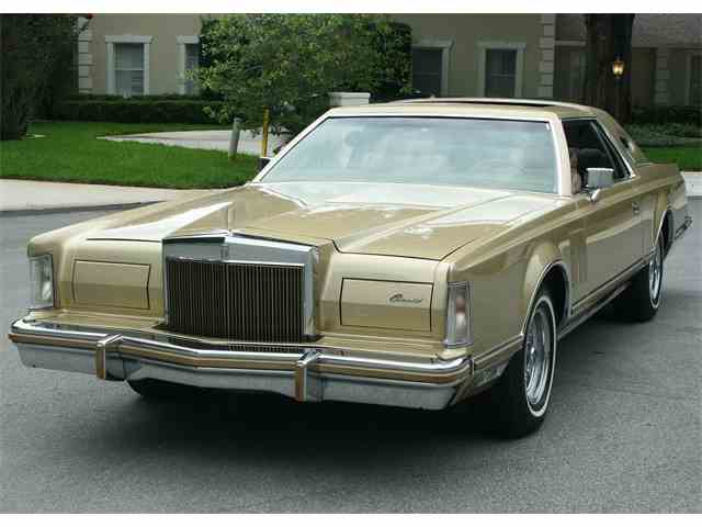 Classic Lincoln Mark V for Sale on ClassicCarscom  35 Available