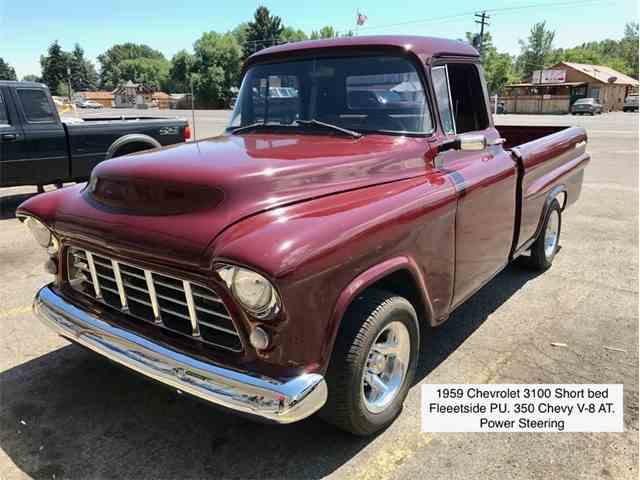 1959 Chevrolet 3100 Fleetside Short Bed | 999162