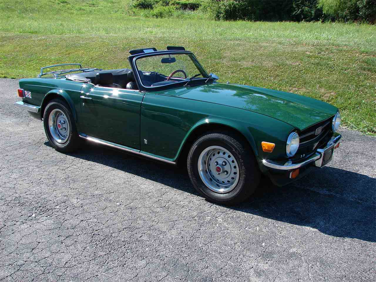 1976 triumph tr6 for sale cc 999261. Black Bedroom Furniture Sets. Home Design Ideas