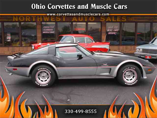 Picture of '78 Chevrolet Corvette located in North Canton Ohio Offered by Ohio Corvettes and Muscle Cars - LF39