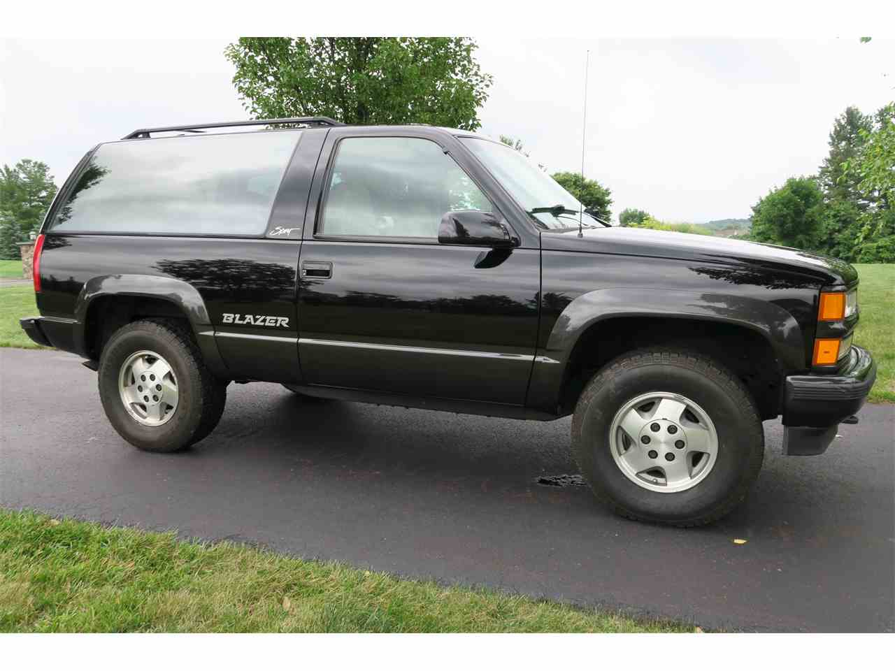 Blazer » 1994 Chevrolet Blazer Parts - Old Chevy Photos Collection ...