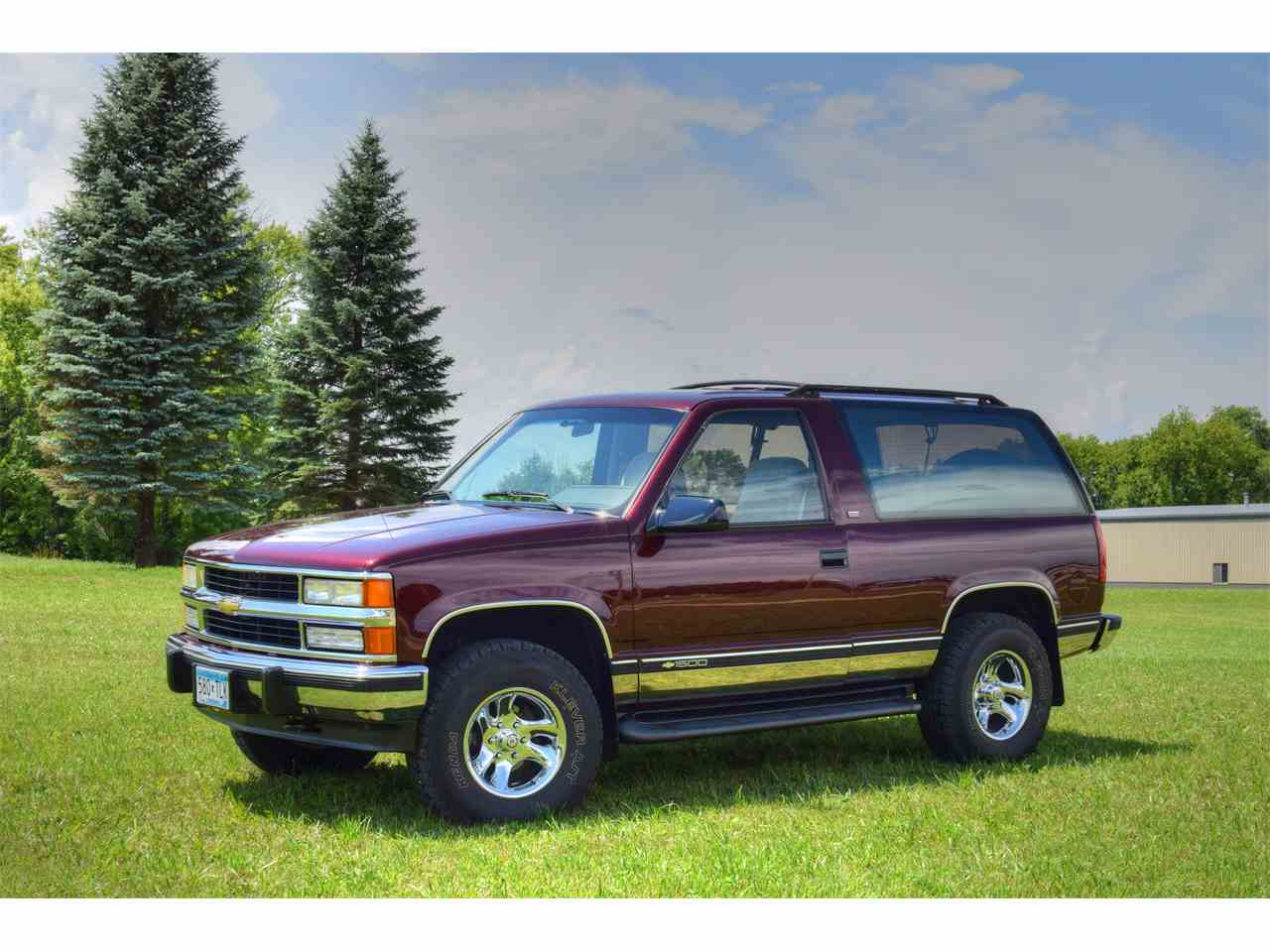1992 chevrolet tahoe for sale cc 999448. Black Bedroom Furniture Sets. Home Design Ideas