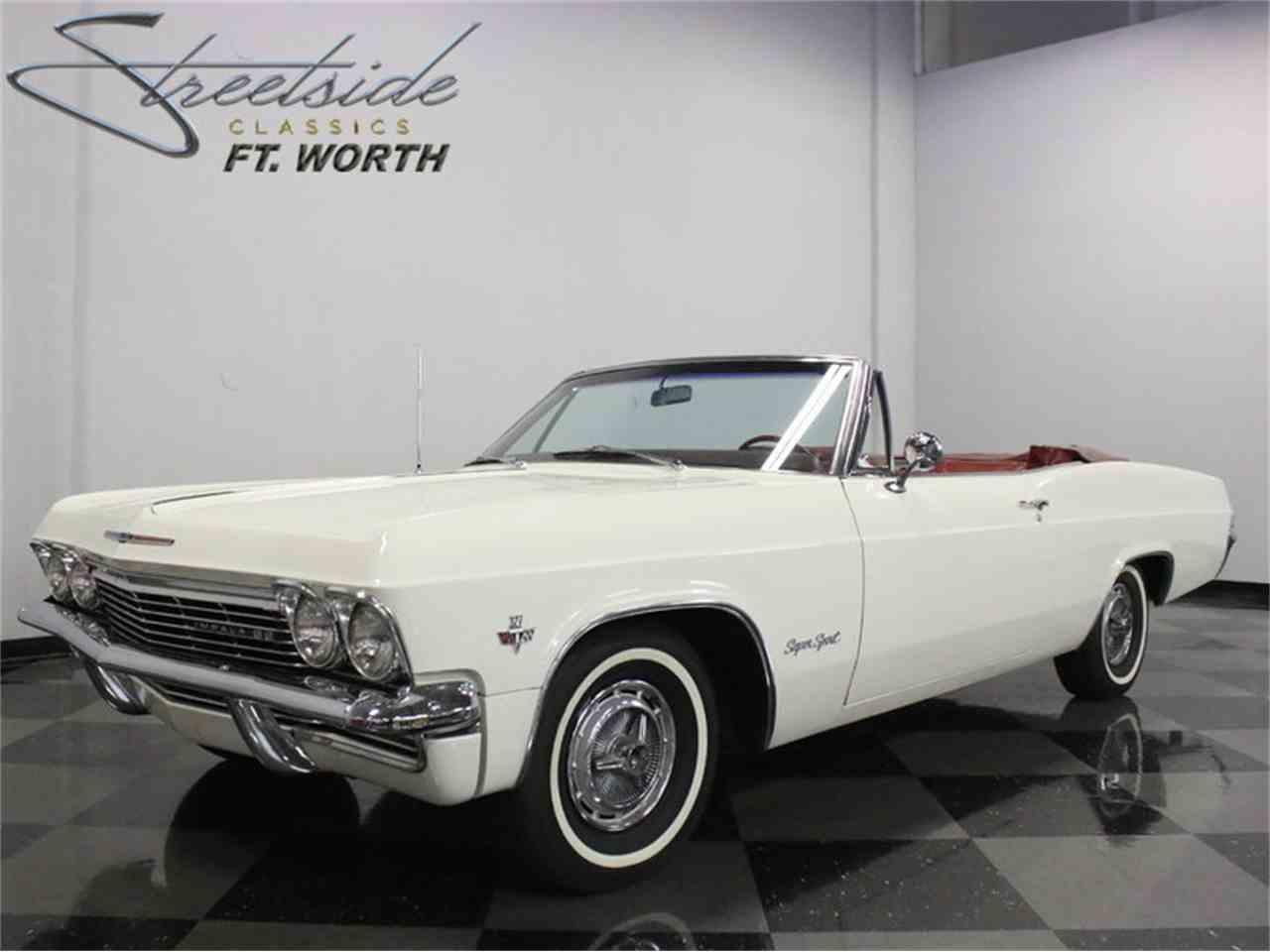 1965 chevrolet impala ss 999561
