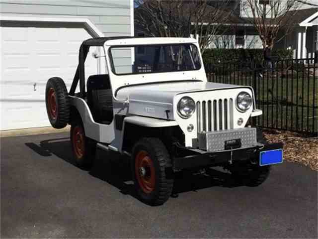 1962 Willys Jeep CJ 3-B | 999682