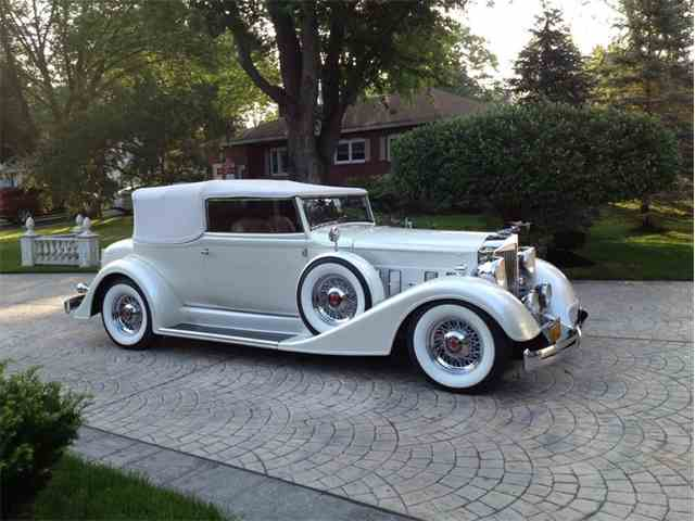1934 Packard Convertible Victoria   999752