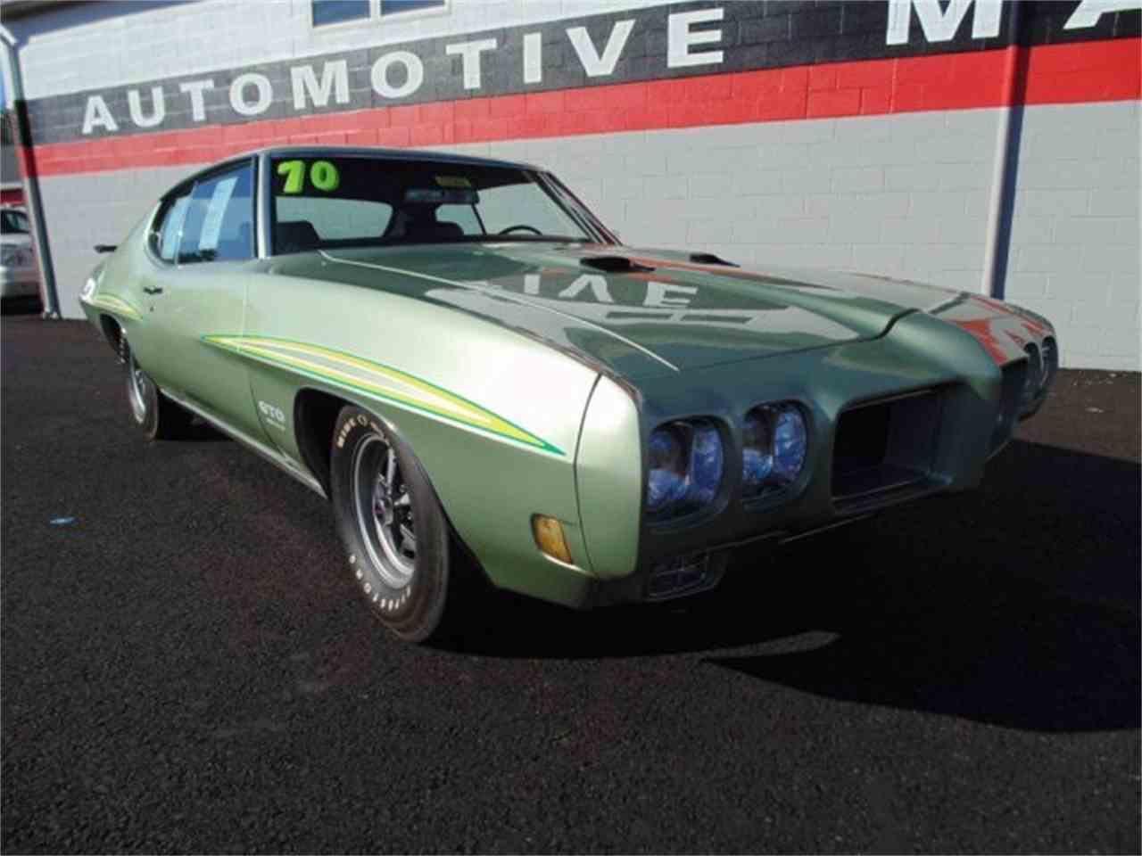 Large Picture of Classic 1970 Pontiac GTO located in Massachusetts - LFGK