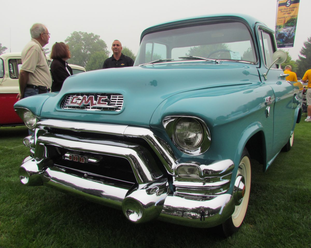 Jet-Age Pickup Trucks at Concours d'Elegance of America